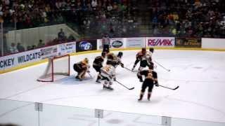 NMU vs MTU Powerplay Goal 10/25/2013
