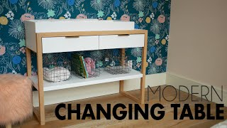 Baixar Modern Changing/Console Table w/ Plans