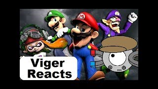 """Viger Reacts to SMG4's """"The Mario Channel: MARIO'S CHALLENGE"""""""