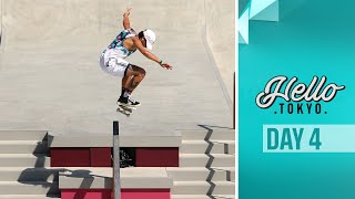 Skateboard makes it's Olympic debut! Hello Tokyo I DAY 4 ?
