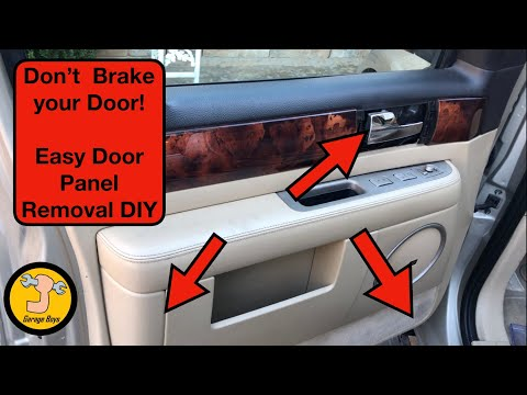 02-06 Lincoln Navigator Door Panel Removal