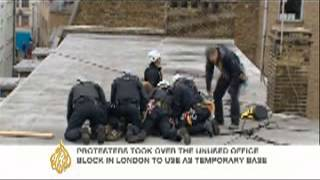 UK police surround protest HQ during anti-G8 rallies