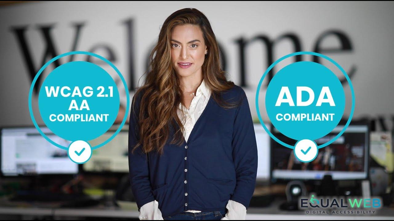 Ada compliance - EqualWeb accessibility