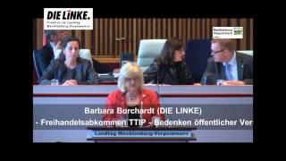 Freihandelsabkommen TTIP Bedenken ernst nehmen