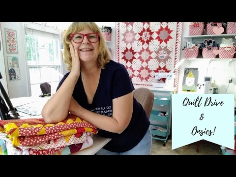 Quilt Drive & Onesies -  What Quilt Have You Made And Know You Won't Make Another?  Pat Sloan