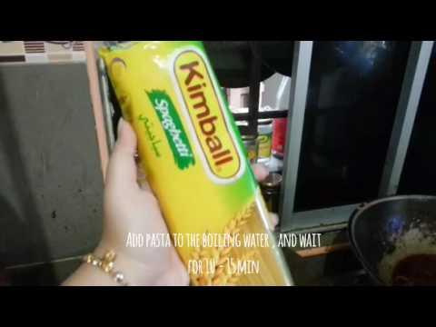 Simple Spaghetti Tekak Melayu Youtube