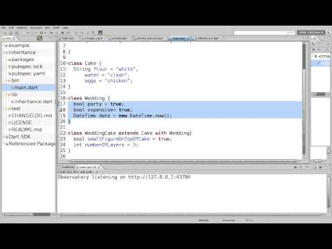 40 Learn to Program in Dart: Mixins - YouTube