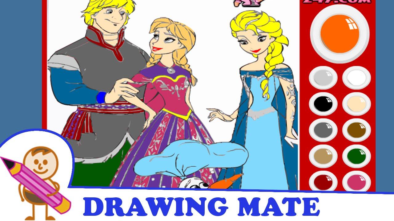 Frozen Coloring Pages For Kids Colouring Book Kraina Lodu Kolorowanki Malowanki Dla Dzieci