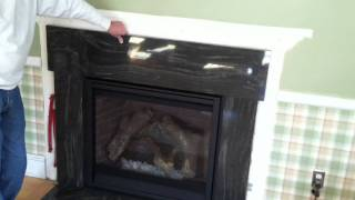 Fireplace Granite Surround