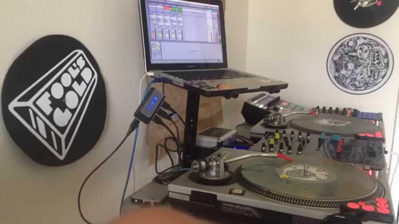 serato dj and ableton