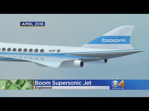 Colorado Business Says It's Taking Supersonic Jet In The Air