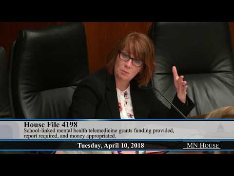 House Health and Human Services Finance Committee – part 1  4/10/18