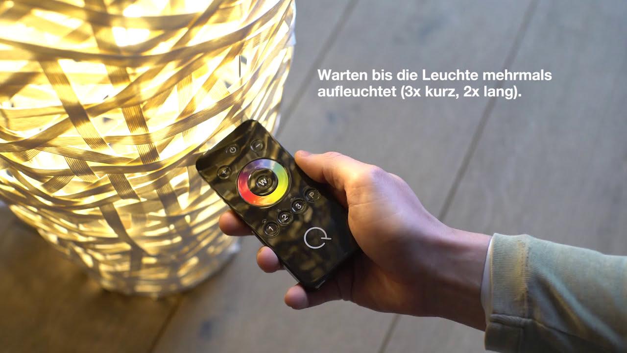 Q Leuchten Von Paul Neuhaus Anlernen Youtube