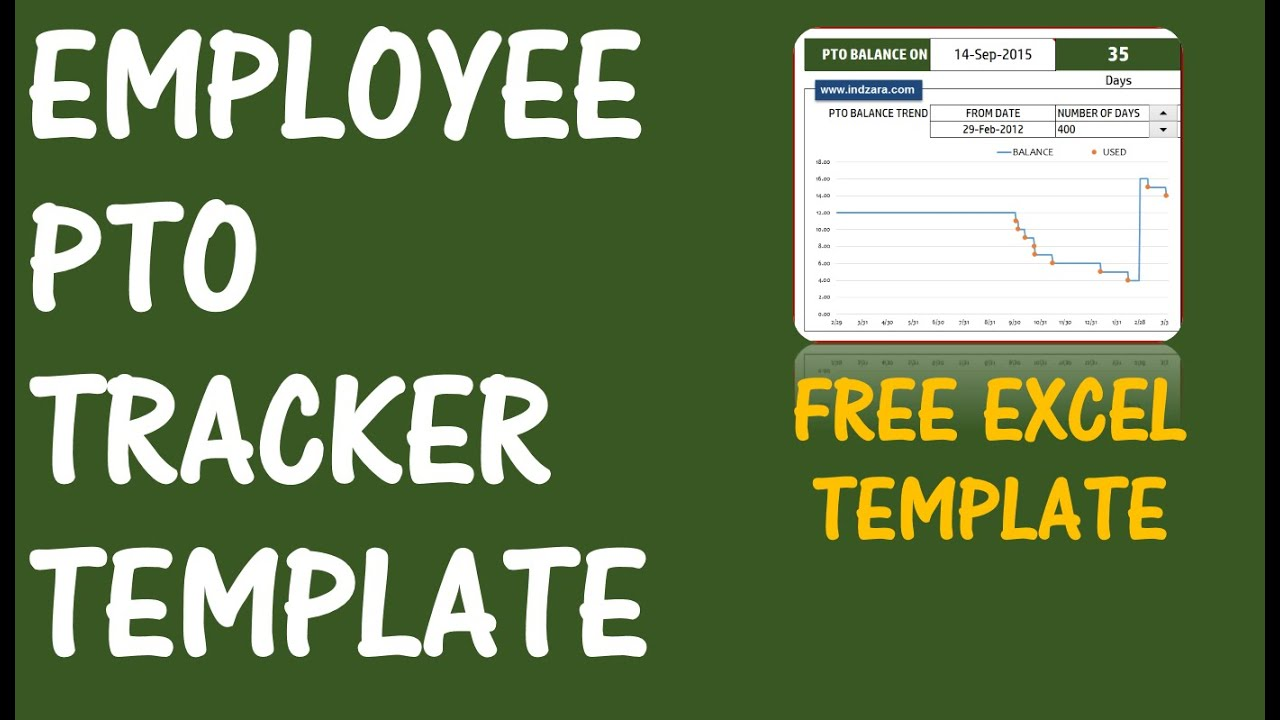 Pto calculator excel template employee pto tracker vacation pto calculator excel template employee pto tracker vacation tracker v1 youtube alramifo Image collections