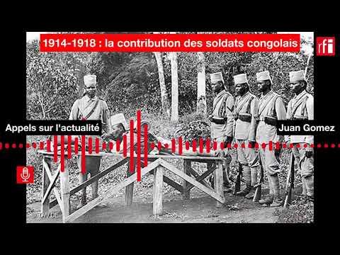 1914-1918 : la contribution des soldats congolais