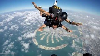 Sky Dive over Palm Jumeirah and Dubai Marina