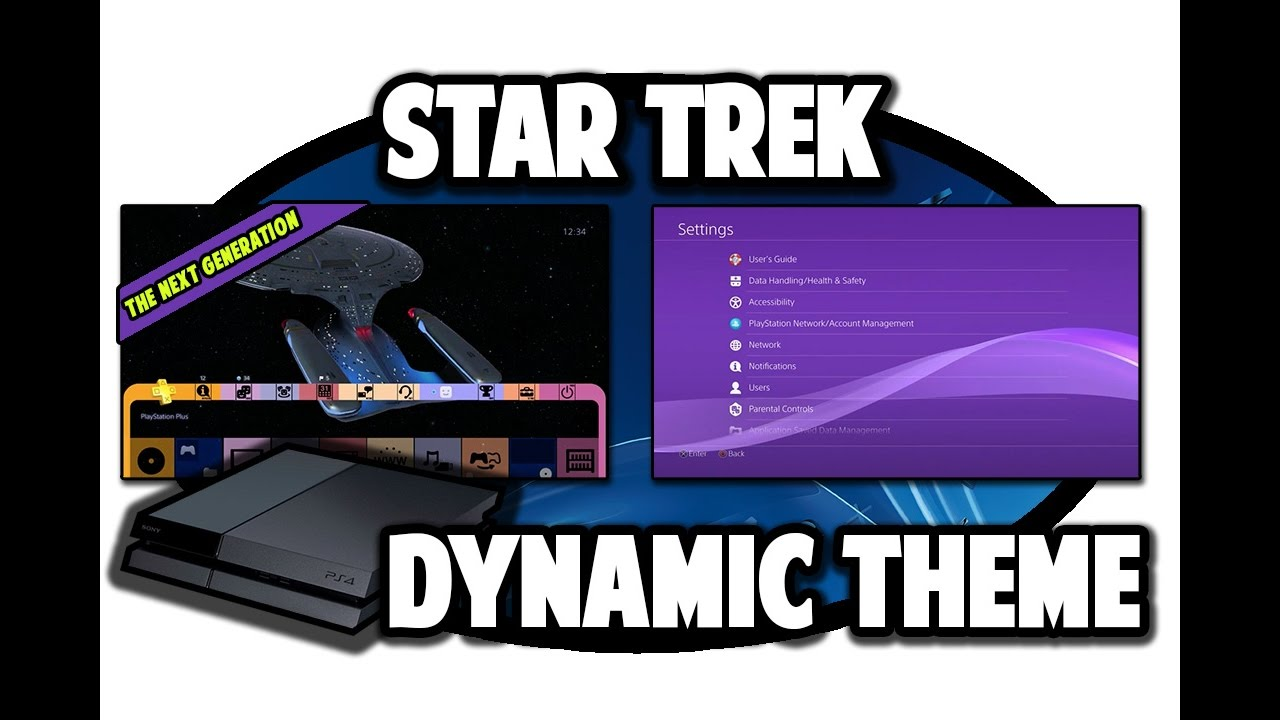 Ps4 themes star trek the next generation dynamic theme video in ps4 themes star trek the next generation dynamic theme video in 60fps youtube altavistaventures Images