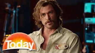Chris Hemsworth on his sexy new thriller Bad Times at the El Royale