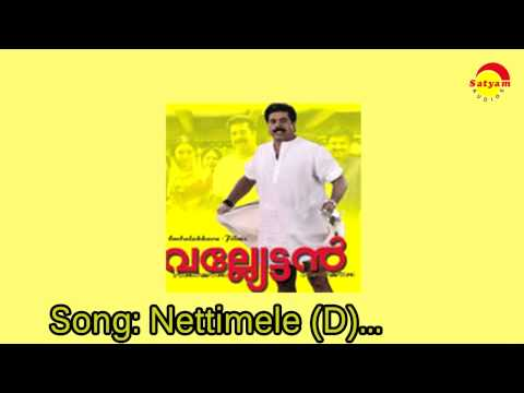 Nettimele Pottittalum Song Lyrics - നെറ്റിമേലേ പൊട്ടിട്ടാലും - Valyettan Malayalam Movie Songs Lyrics