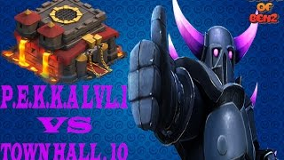 Clash Of Clans Master Benz - P.E.K.K.A VS TOWN HALL LVL 10