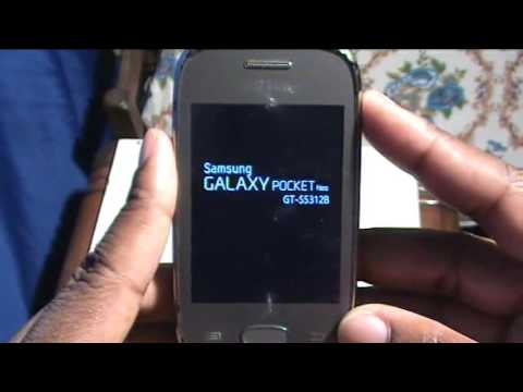 SAMSUNG FORMATAR OU RESET ( Galaxy Pocket Neo GT S5312B)