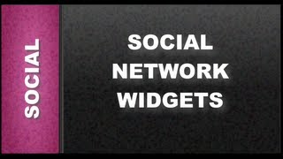 Web Designer tutorials for Xara Web Designer 8 - Social Network Widgets with Share This Lesson 98