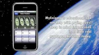 "iPhone Enigma Machine Simulator ""My Enigma"""