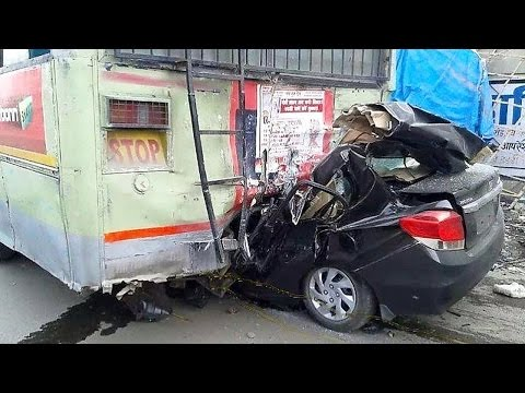Latest Car Accident of Honda Amaze in India – Road – Crash – Compilation – Auto – 2016 – 2017 – 2018