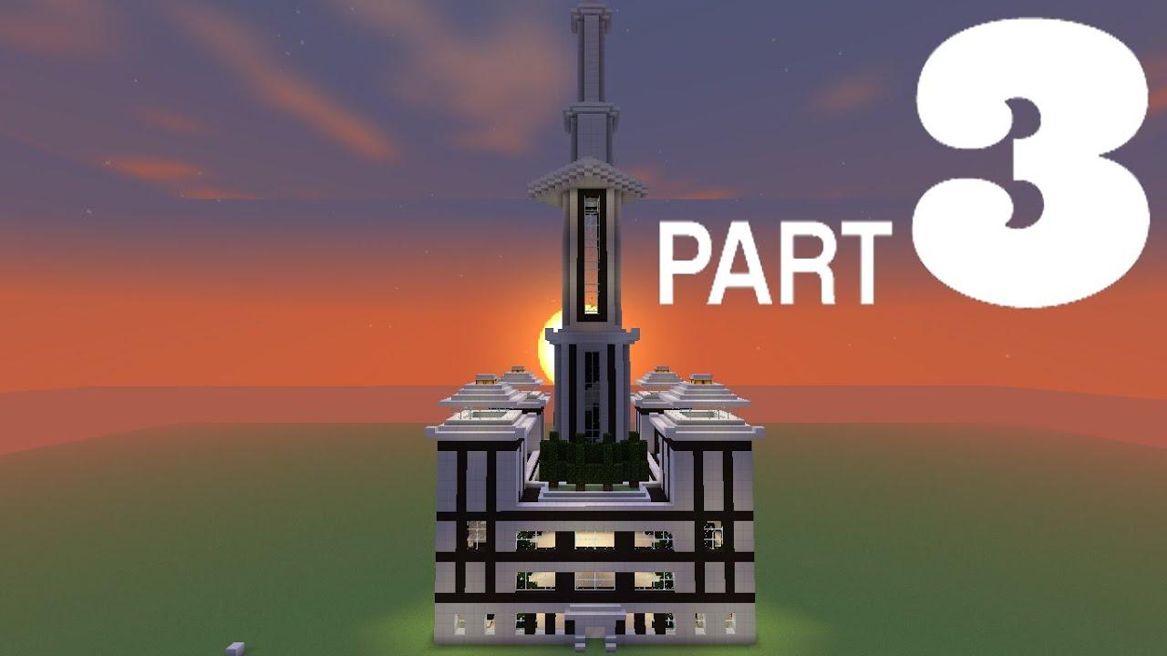 Minecraft ville moderne tuto - Ville moderne minecraft ...