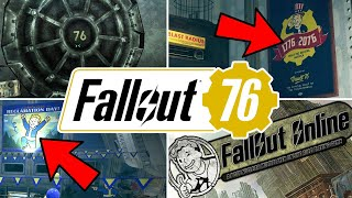 Fallout 76: Every Leaked Gameplay & Plot Detail You Need To Know
