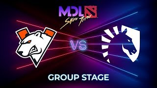 Virtus.pro vs Team Liquid - MDL Macau 2019: Group Stage