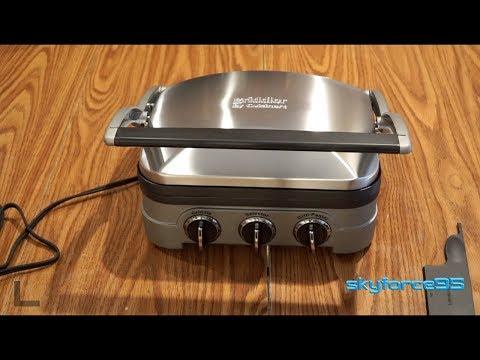 Cuisinart 5-in-1 Griddler, GR-4N Review