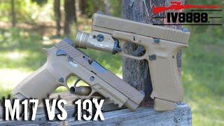 Sig M17 vs Glock 19X