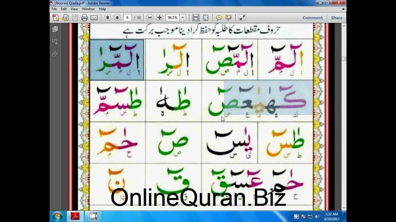 Easiest way to learn quranic arabic book