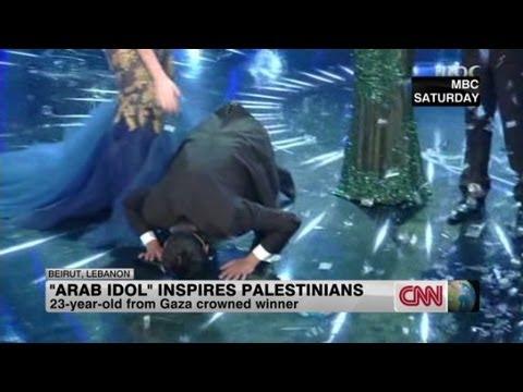 A Palestinian wins Arab Idol