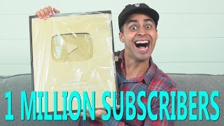 Gold Play Button Unboxing | David Lopez