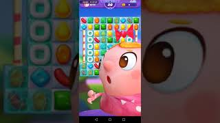 Candy Crush Friends Saga Walkthrough 3 Stars - Level 19 No Boosters Or Powerups