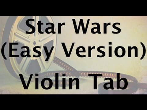How to Play Star Wars on the Violin (Short Version)