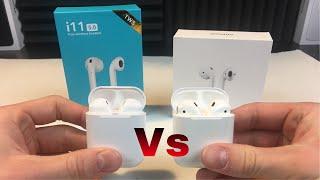 I11-tws VS Apple Airpods