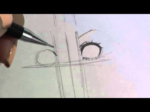 How to draw female and male manga/anime eyes! Woahhhh ...