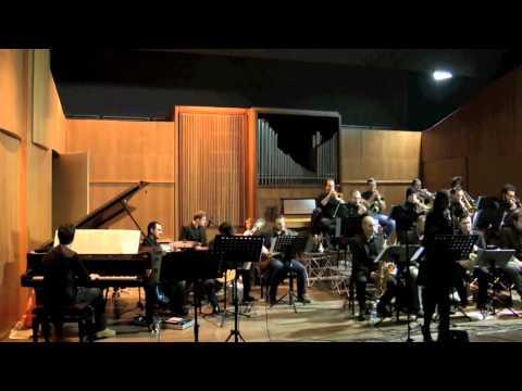 Big Band Conservatorio Pescara- Rebecca Pecoriello (Jazz Singer)-Concerto Natale 2013