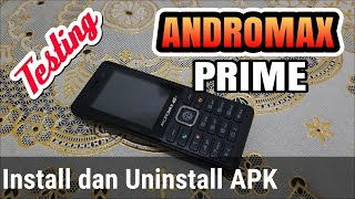 Install APK di ANDROMAX PRIME