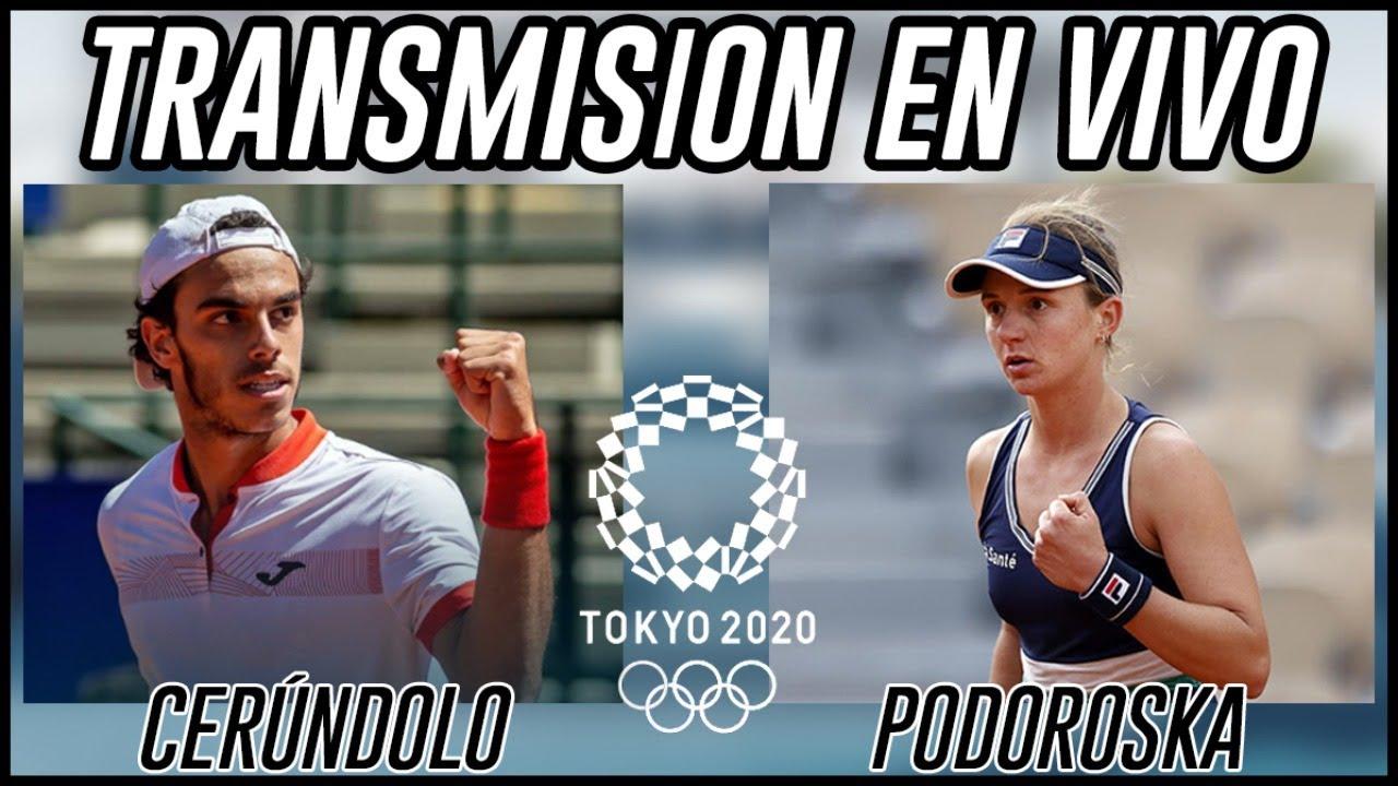 🛑 EN VIVO - Comentamos los partidos de Cerundolo y Podoroska en Tokio 2020