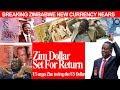 zim dollar set for return zimbabwe urged to drop us dollar zimbabwe latest breaking news today