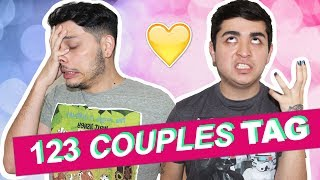 123 COUPLES TAG | Ricky & Rick