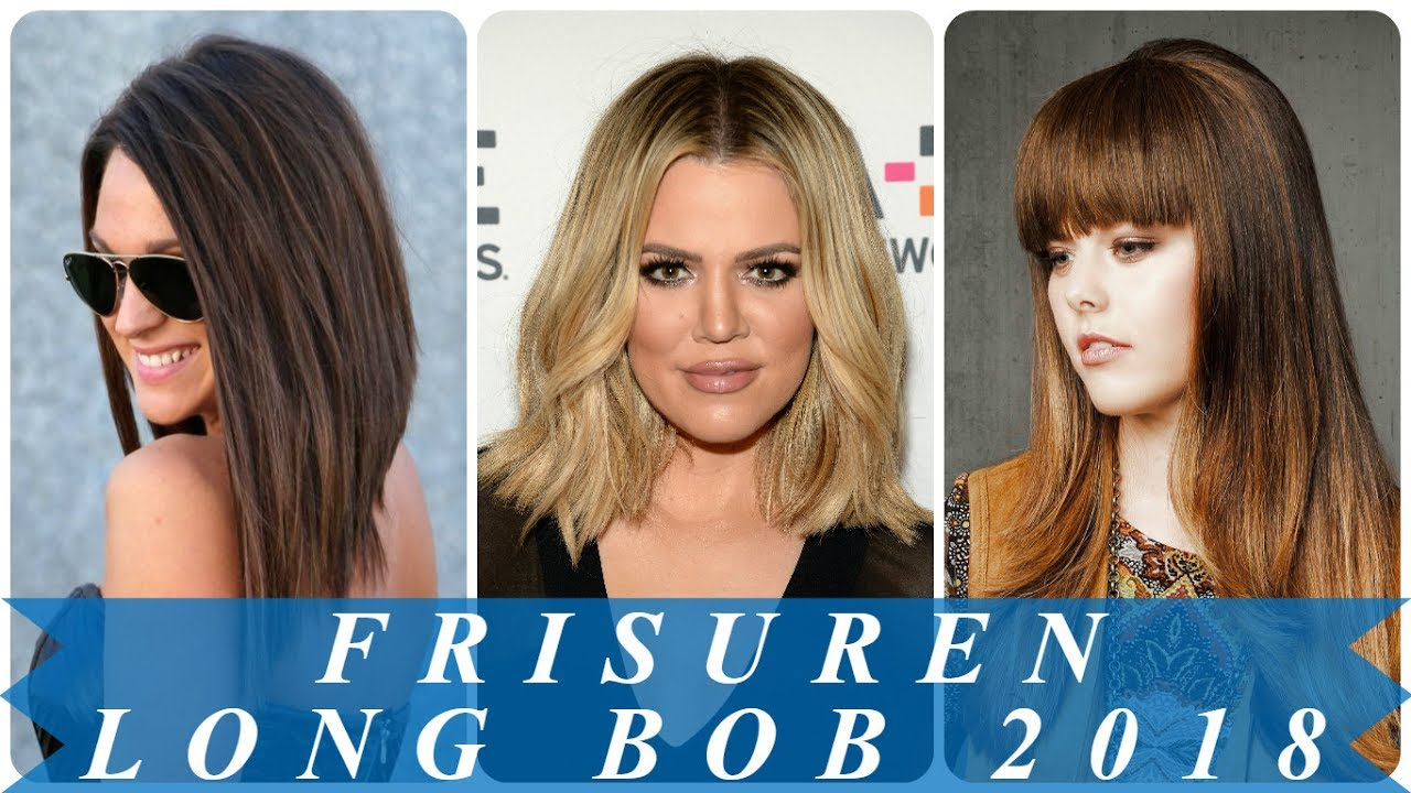 Coole Frisuren Für Long Bob 2018 YouTube