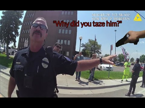 WATCH: Good Cop Honors Oath to Constitution, Stops Bad Cop