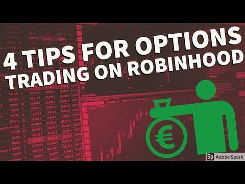 Tips for options trading robinhood