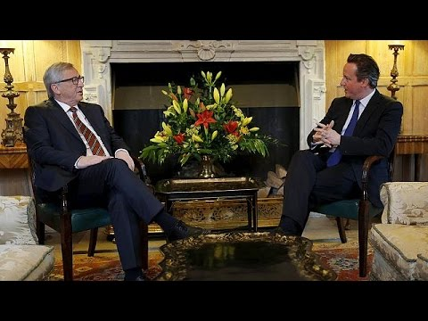 Cameron and Juncker meet to discuss UK call for new EU deal