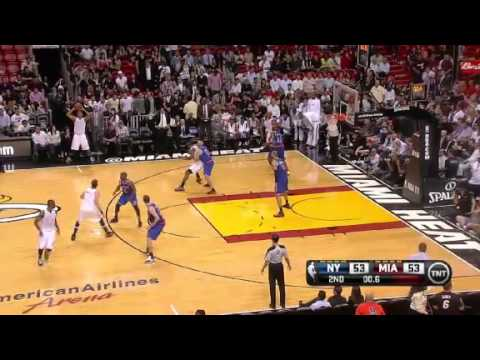 New York Knicks vs. Miami Heat Full Highlights 6 December 2012